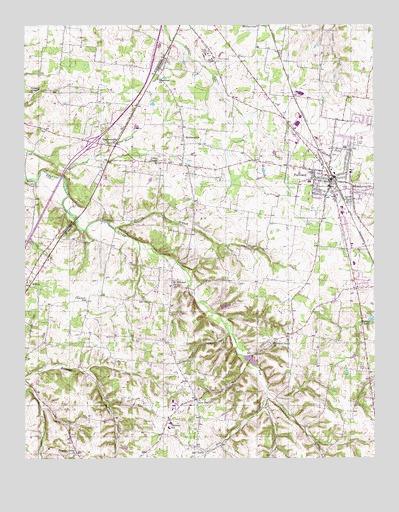 Portland Tennessee Map.Portland Tn Topographic Map Topoquest