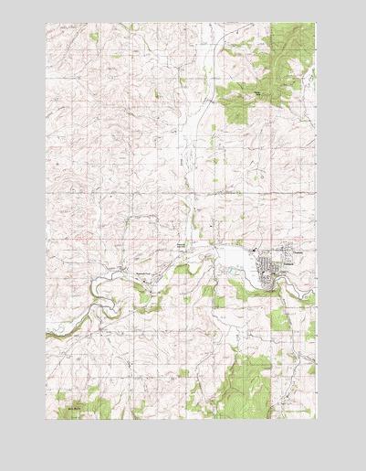 Potlatch Idaho Map.Potlatch Id Topographic Map Topoquest