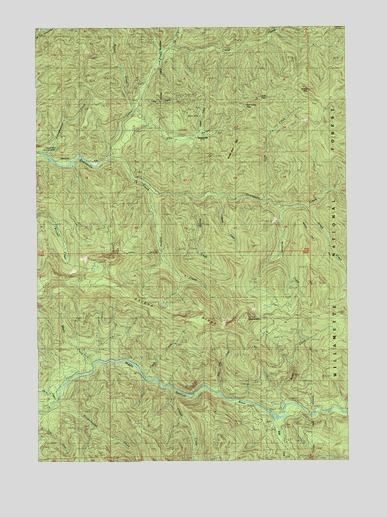 Quartzville Or Topographic Map Topoquest