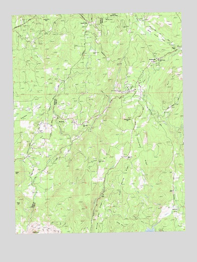 Rackerby, CA USGS Topographic Map