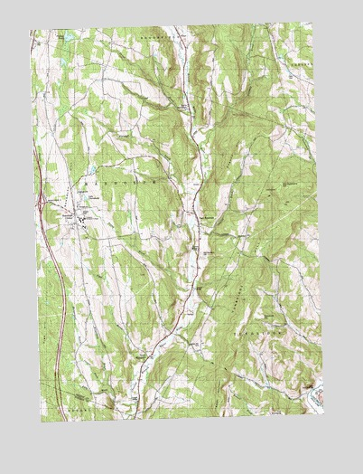 Randolph Center, VT USGS Topographic Map