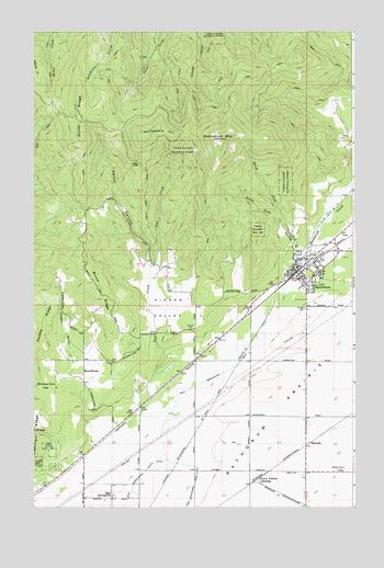 Rathdrum Id Topographic Map Topoquest