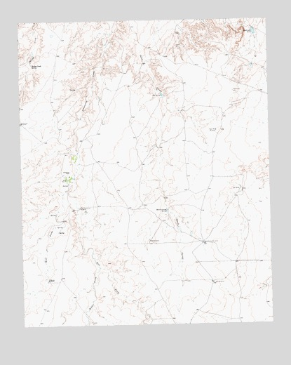 Alamocitos Camp, TX USGS Topographic Map