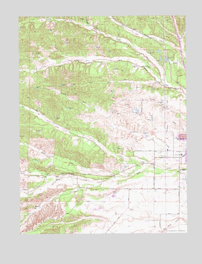 Red Bluff West, CA Topographic Map - TopoQuest on