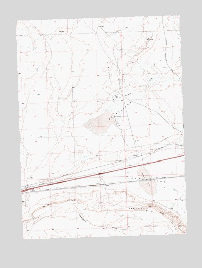 Red Desert Wy Topographic Map Topoquest