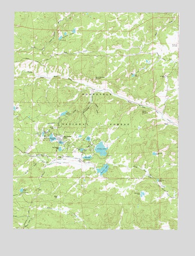 red feather lakes map Red Feather Lakes Co Topographic Map Topoquest red feather lakes map