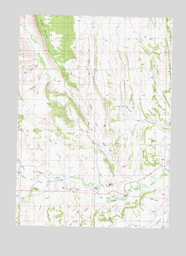 Powder River Wyoming Map.Red Fork Powder River Wy Topographic Map Topoquest