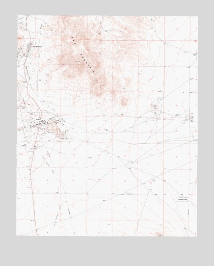 Red Mountain, CA USGS Topographic Map