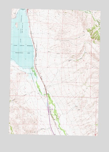 Red Rock, MT USGS Topographic Map