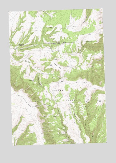 Big Ice Cave, MT USGS Topographic Map