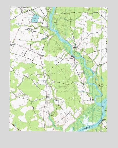 Rhodesdale MD Topographic Map  TopoQuest