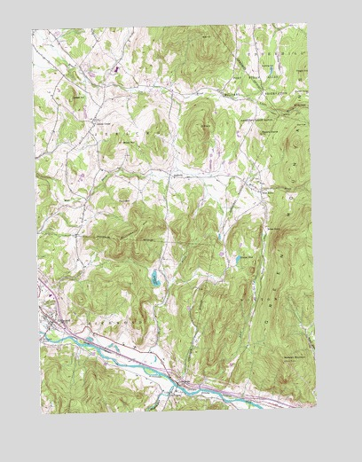Richmond, VT Topographic Map - TopoQuest