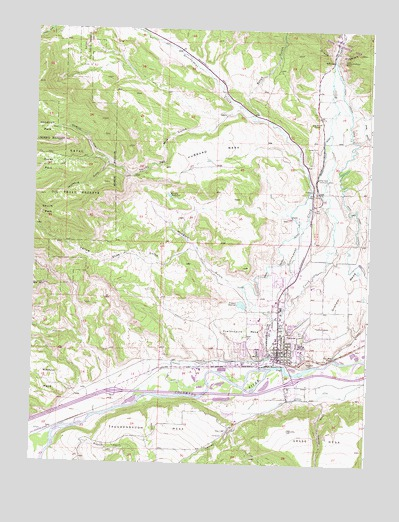 Rifle Co Topographic Map Topoquest