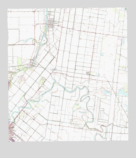 Rio Hondo TX Topographic Map  TopoQuest