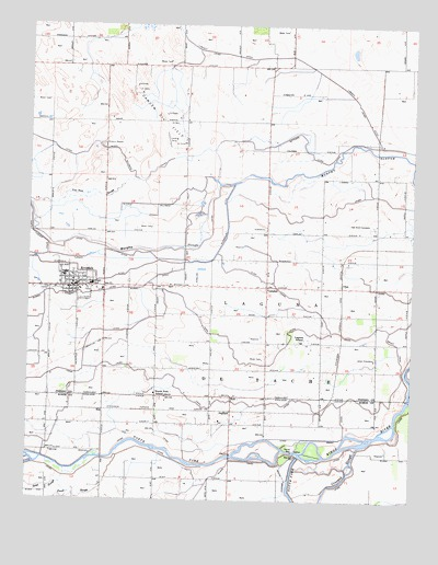 Riverdale, CA USGS Topographic Map