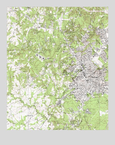 Rock Hill West Sc Topographic Map Topoquest