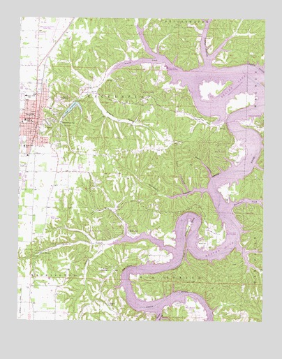 Rogers, AR Topographic Map - TopoQuest