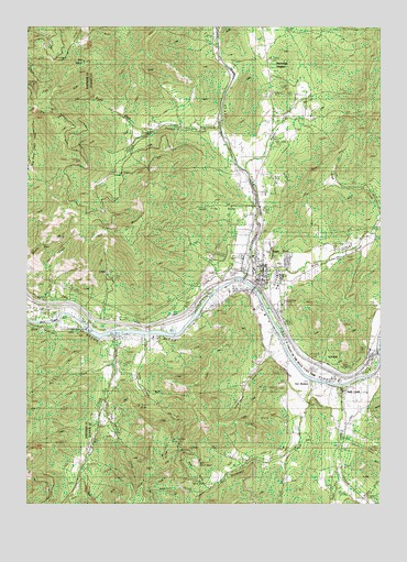 Rogue River, OR USGS Topographic Map