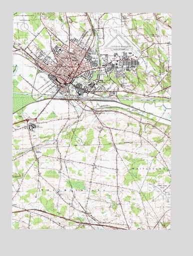 Topographic Map Of Rome.Rome Ny Topographic Map Topoquest