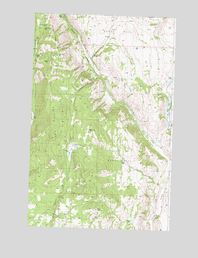 Ruby Hill, WA USGS Topographic Map