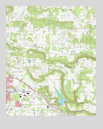 Russellville East Ar Topographic Map Topoquest