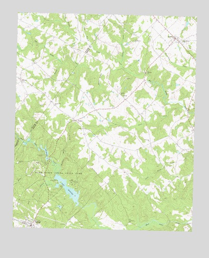 Rutledge North, GA Topographic Map - TopoQuest