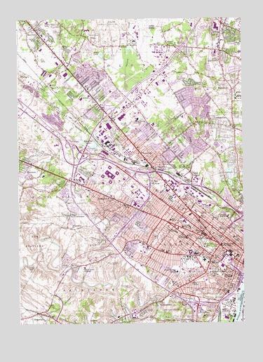 Albany Ny Topographic Map Topoquest