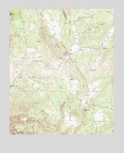 Sage, CA USGS Topographic Map