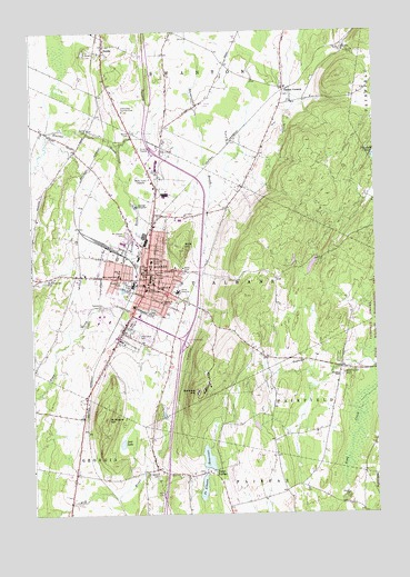 Saint Albans, VT USGS Topographic Map