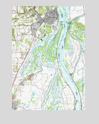 st helens oregon map Saint Helens Or Topographic Map Topoquest st helens oregon map