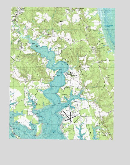 St. Marys City, MD Topographic Map - TopoQuest