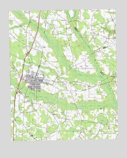 St Paul Nc Map.Saint Pauls Nc Topographic Map Topoquest