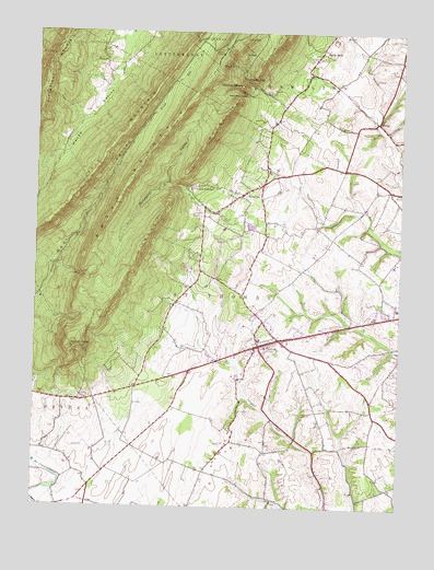 saint thomas pa usgs topographic map