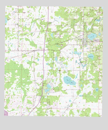 san antonio florida map San Antonio Fl Topographic Map Topoquest san antonio florida map