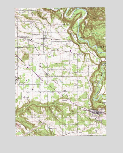 Sandy, OR USGS Topographic Map
