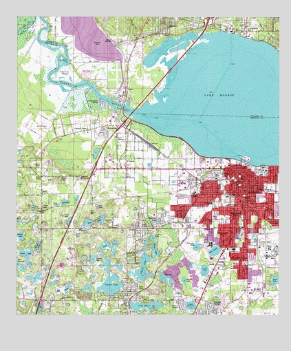 Sanford, FL Topographic Map - TopoQuest on emergency operations center, shopping center, satellite center,
