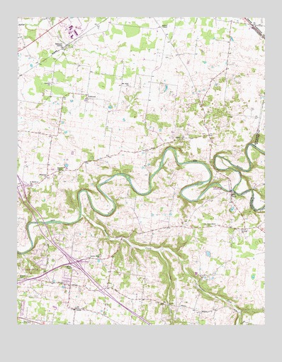 Sango, TN Topographic Map - TopoQuest on