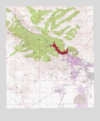 Az Topographic Map.Bisbee Az Topographic Map Topoquest
