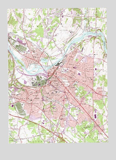 Schenectady County Community College Campus Map.Schenectady Ny Topographic Map Topoquest