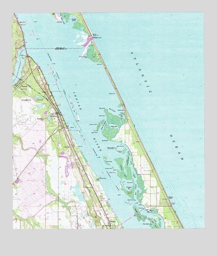 Sebastian FL Topographic Map TopoQuest - Florida topographic map