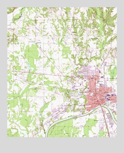 Selma, AL Topographic Map - TopoQuest