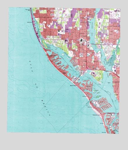Seminole Florida Map.Seminole Fl Topographic Map Topoquest