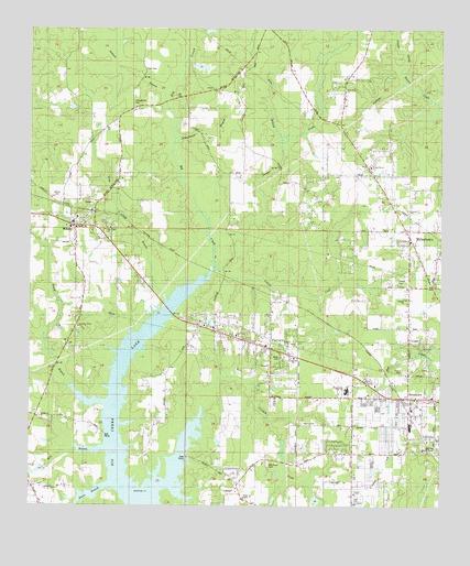 Semmes Alabama: Semmes, AL Topographic Map