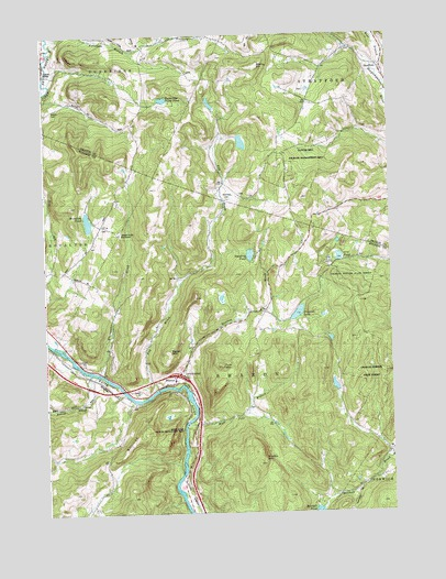 Sharon, VT USGS Topographic Map