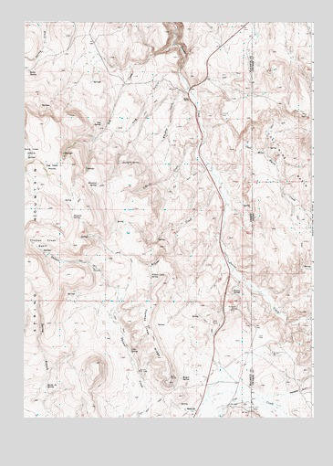 Sheaville, OR USGS Topographic Map