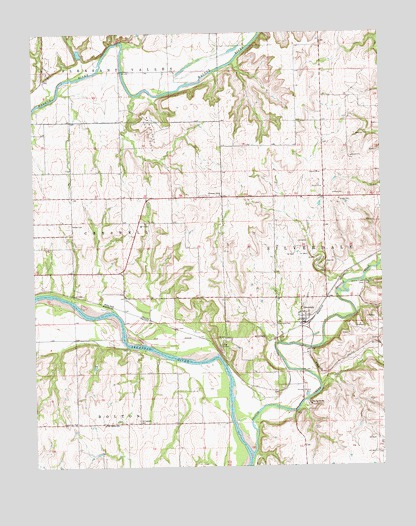 Silverdale, KS USGS Topographic Map