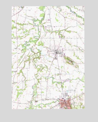Silverton Or Topographic Map Topoquest
