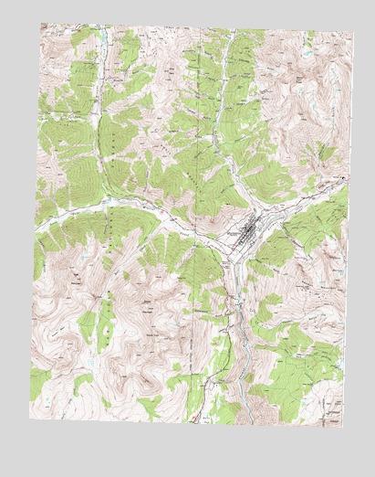 Silverton Co Topographic Map Topoquest