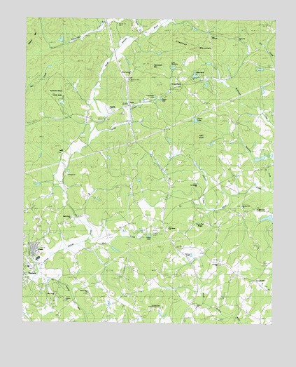 Slater, SC USGS Topographic Map