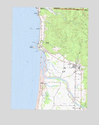smith river california map Smith River Ca Topographic Map Topoquest
